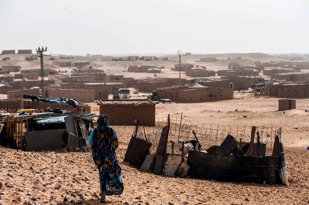 VEST-SAHARA: Dessverre går de sterke båndene mellom Frankrike og landene i Nord-Afrika langt tilbake til kolonitiden.