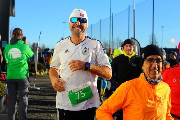 Startskuddet har gått for lørdagens ultraløp på Haukerød.