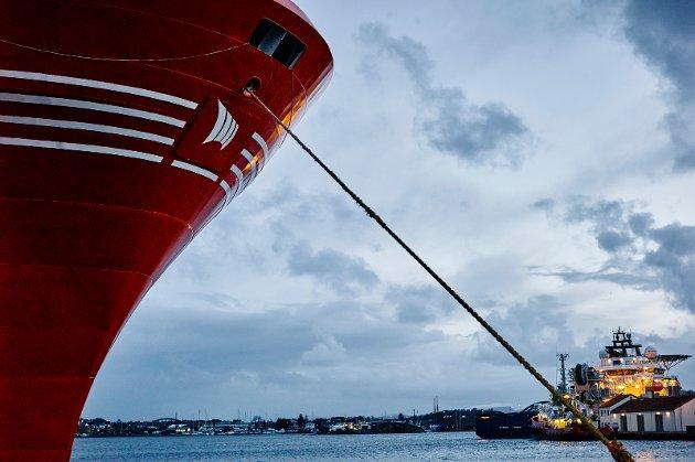 SJØFOLK: Arbeiderpartiet stilte i Stortinget spørsmål til hvorfor den trippelblå regjeringen godtok at 700 sjøfolk mister jobben, skriver Fabian Wahl Sandvold.