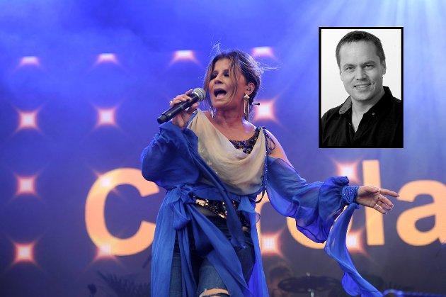 CAROLA: Publikum storkoste seg da den svenske superstjernen holdt sin konsert på Fjordfesten.