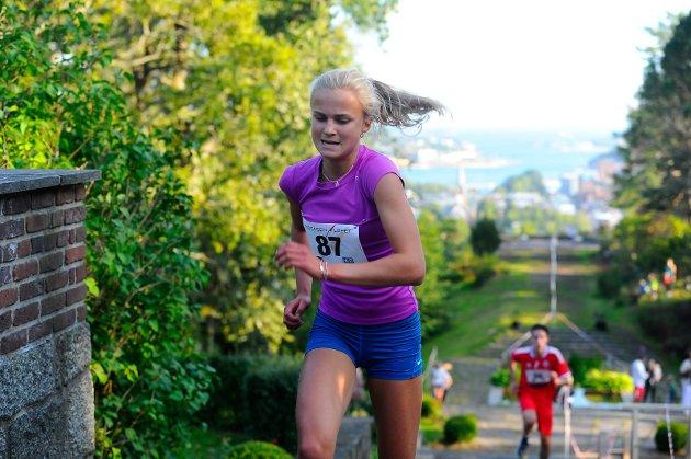 Nora Doksrød vant jenteklassen U17.