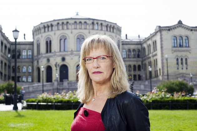 Karin Andersen (SV), leder for Stortingets kommunal- og forvaltningskomité. (Foto: Stig Weston)