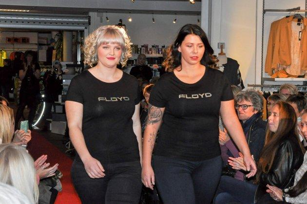Det ble vist frem både hår- og klesmote på catwalken hos BB Mote i Gangnæsgården i Mysen under damenes aften torsdag kveld.