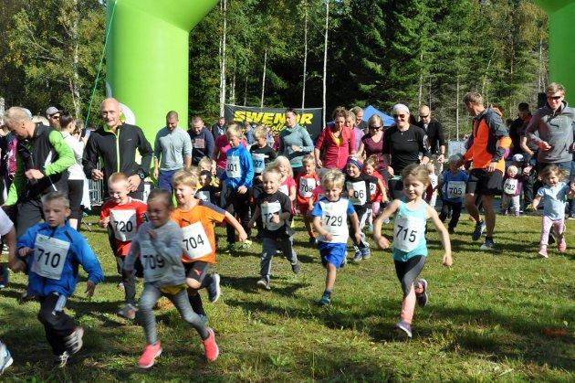 Søndag ble Fjellaløpet arrangert for 8. gang ved Dynjan i Trømborgfjella. 316 deltagere i alle aldersgrupper deltok. Barneklassen var delt opp i tre aldersgrupper: 350m (0-5 år), 700m (6-9 år) og 1,8 km (10-11 år).