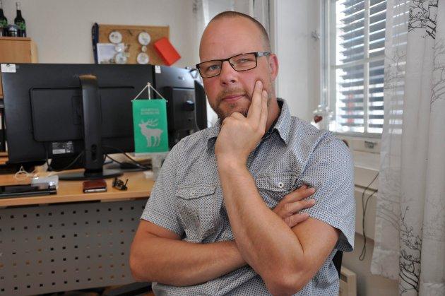 Ordfører i Hjartdal, Bengt Halvard Odden.