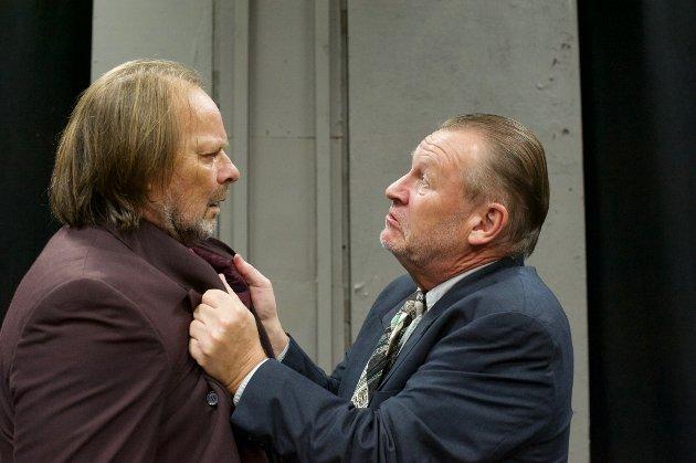Geirr Johnson (Ben) t.v. og Rolf Dolven (Gus) t.h .