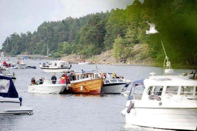 FOLKSOMT: Innsenderen bekymrer seg for fuglelivet nå som «alle» er på fjorden. Bildet er tatt ved en tidligere anledning.
