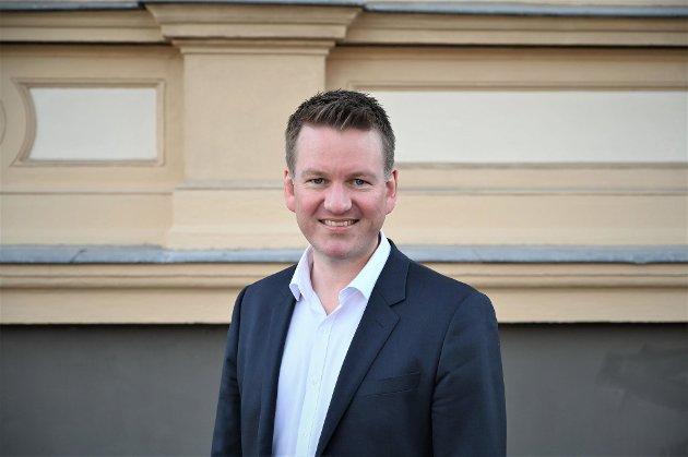 FORFATTER: Anders Tyvand fra Tønsberg er toppkandidat for Kristelig Folkeparti i Vestfold.