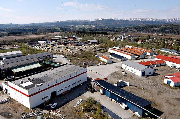 Skogmo Industripark.