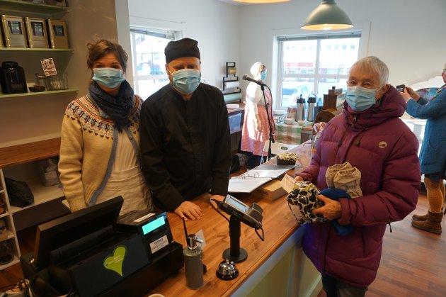 Nye lokale: Laurdag opna Fagernes Landhandel dørene i det nye lokalet i Annekset i Fagernes sentrum.