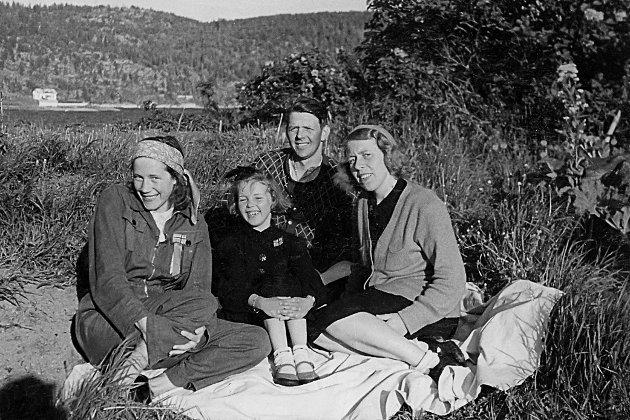 Piknik-idyll på Fyrsteila.