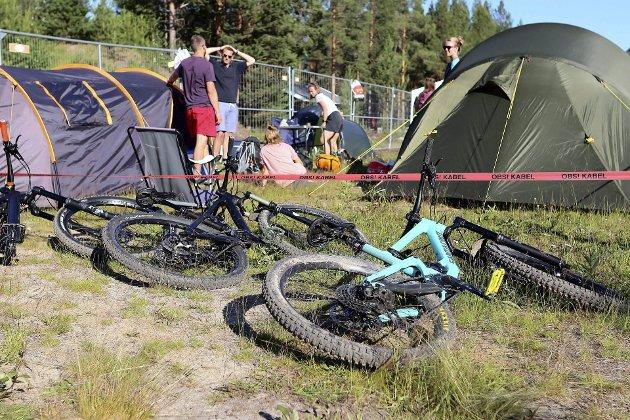 Festivalliv på campingplassen på Livestock. Livestock og Kalvstock er en festival som stadig løftes med nye aktiviteter og flere samarbeidspartnere.