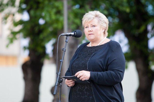 KVALITET FOR ALLE : - Vi skal ikke tåle store ulikheter i kvaliteten på eldreomsorgen, skriver statsminister Erna Solberg (H).
