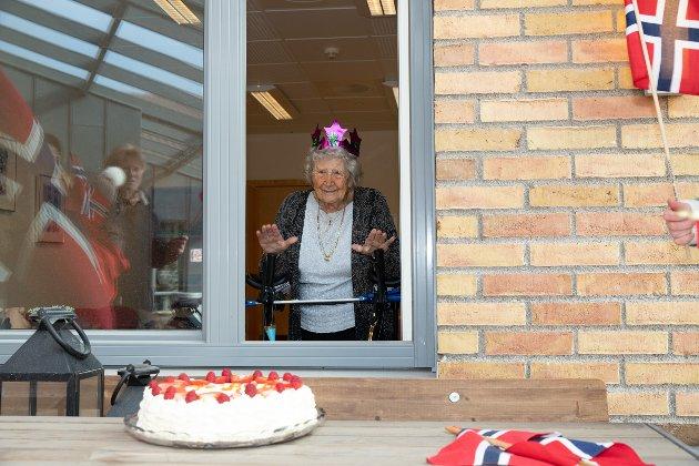 Berit Marie Holten fylte 100 år.