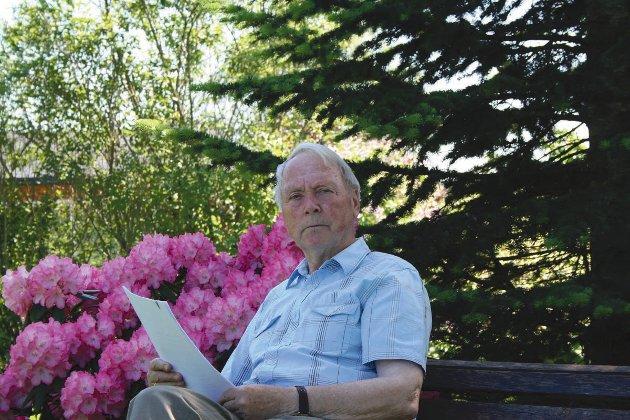 Arne Ellingsberg, i sitt 93. år, ønsker fortsatt å leve