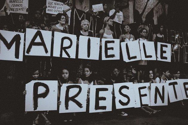 Fra demonstrasjonene i flere av de store byene i Brasil i etterkant av drapet på Marielle Franco