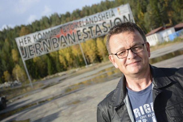 EN STOR SKOLE: Rune Hagestrand, i Gjerstad Høyre, mener det kun vil være midlertidig å beholde noen andre skoler, og vil samle alt på Abel.Foto: Arkiv