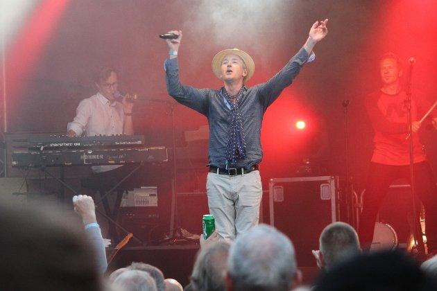 Morten Abel på Risør Trebåtfestival.