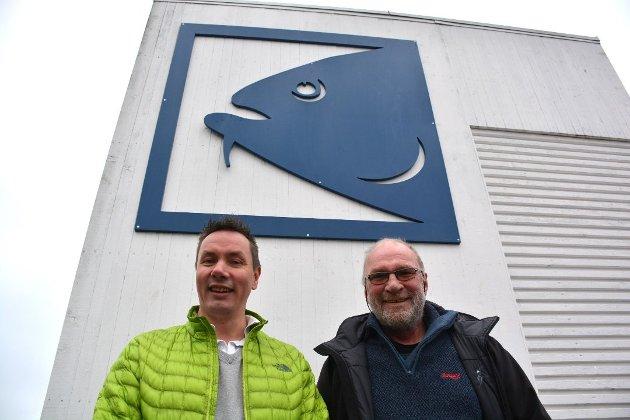 NY LOKAL EIER: Jim Berg fra Risør tar over Risør Fiskemottak etter Yngvar Aanonsen.