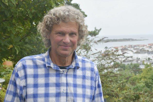 Knut Henning Thygesen, leder i Risør Rødt.