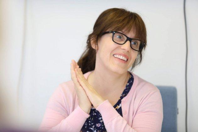 – Risør Venstre vil satse på gründerskap og tror at et nytt næringsstipend til unge etablerere kan være veien til flere arbeidsplasser i kommunen, skriver innsenderne. På bildet Venstres ordførerkandidat Sara Sægrov Ruud.