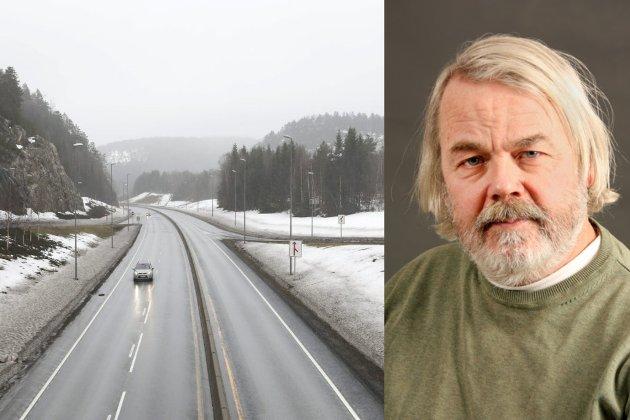 JEKKE SEG NED? Innleggsforfatter Kjell-Olav Masdalen mener det ikke er behov for firefelts motorvei forbi Risør. – Det beste ville vært at den eksisterende E18 her blei rusta opp til to- og trefeltsvei med midtdeler. Da hadde veien ned til Risør by ikke blitt lenger enn i dag, og dessuten hadde industrisenteret på Moland fått beholdt sin tette nærhet til E18, skriver han i dette innlegget.