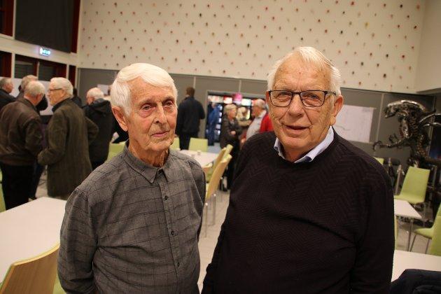 Arvid Moi fra Høiland og Oddvar Tesaker fra Frøytland