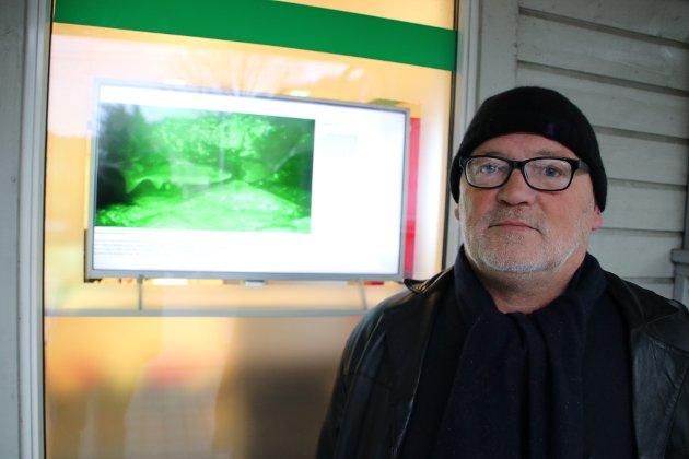 Eirik Grønsund fra selskapet Iserv Computing i Flekkefjord .