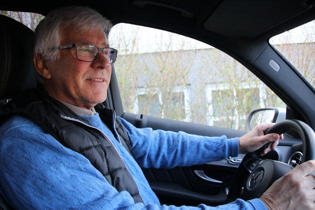 Pensjonert trafikkskolelærer Anders Golin Glendrange