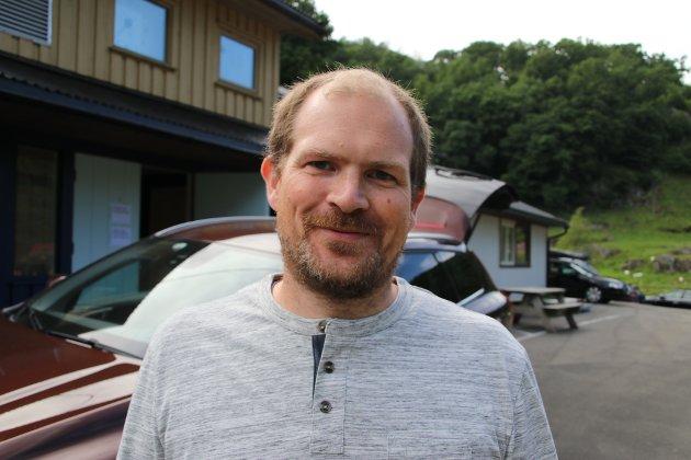 Frank Jørgen Østhus i Hidra velforening