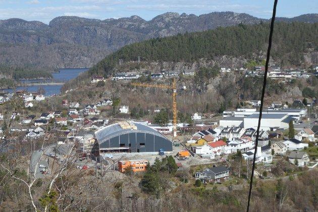 Flerbrukshallen i Flekkefjord.