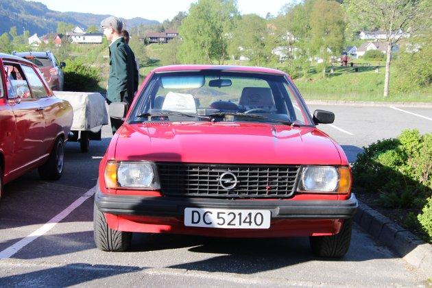 Opel Ascona, 1977-modell. Eier: Ludvig Strand