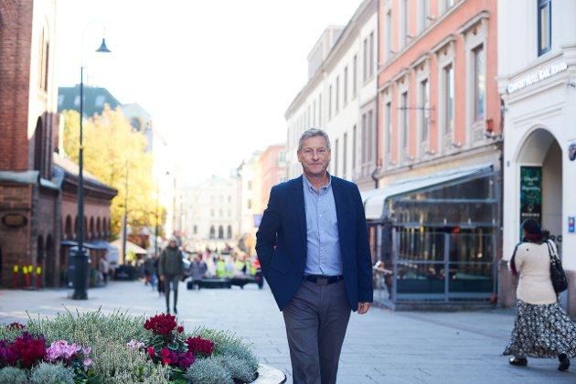 Bjørn Næss, administerende direktør i Oslo Handelsstands Forening.