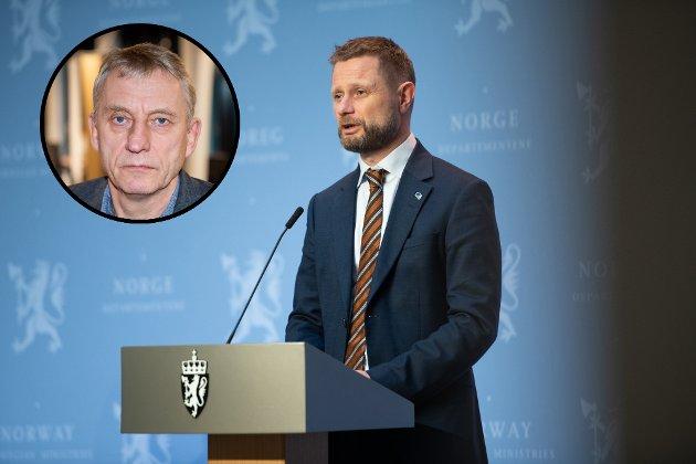 Ansvarlig redaktør Magne Storedal krever handling fra helseminister Bent Høie.