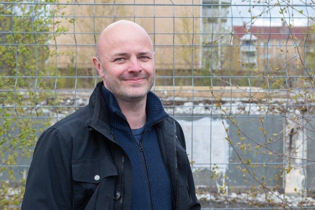 Aksjonsgruppa Varmt og Grønt Mangleruds leder Lars Ruud  Foto: Jørgen Hyvang