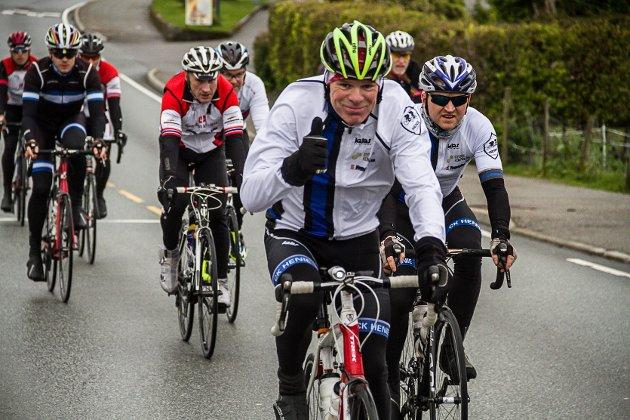 Nordhordland Rundt på sykkel vart arrangert for åttande gong.