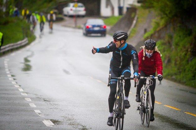 Nordhordland rundt på sykkel 2016.