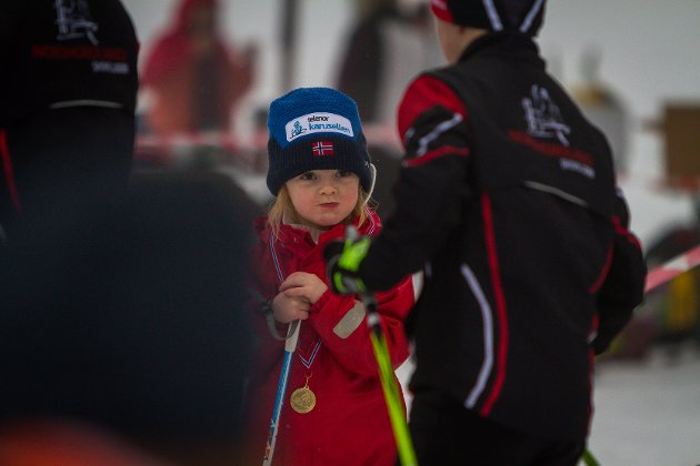 Nordhordlandsmeisterskapen på ski på Gamlesætra i Romarheimsdalen.