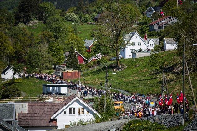17. maitoget til Alversund skule.