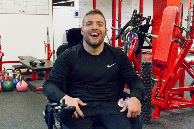 – Å verta Noregs sterkaste rullestolbrukar viser at hard trening lønnar seg, seier Frode.
