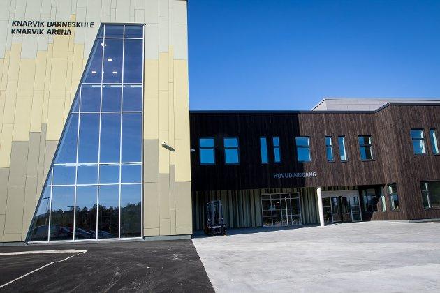 Nye Knarvik barneskule er ferdigbygd og snart klar for å ta i mot 235 spente elevar.