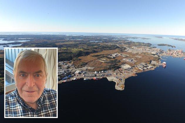 MONGSTAD: Tidlegare informasjonsleiar i Norsk Hydro, Karl Kolstad, meiner at ein bør prioritere Mongstad som lokasjon for ny batterifabrikk.