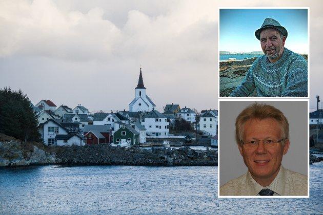 Trond Ågotnes i Motvind Vestland og Sveinulf Vågene i Motvind Norge kjem med krass kritikk mot vindkraftplanane på Fedje.