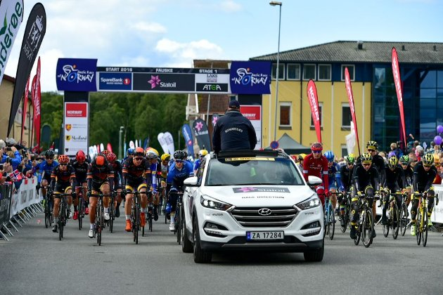 Arctic Race of Norway 2016 - 11/08/2016 - Etape 1 : Fauske/Rognan (180,5 km) - Départ fictif