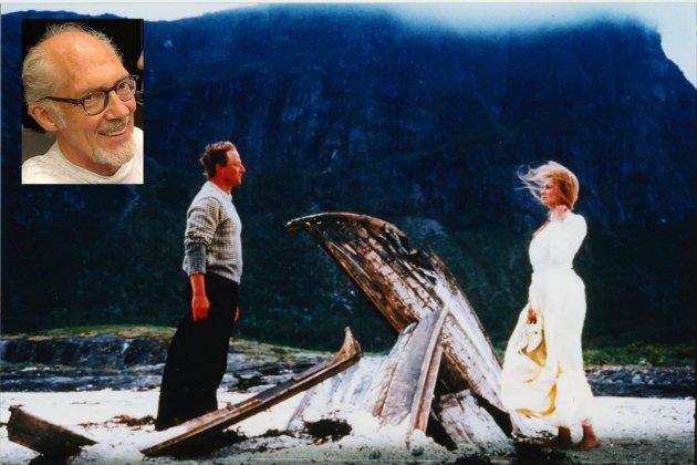 """Filmen """"Telegrafisten"""" er basert på Knut Hamsuns roman Sværmere. Bildet viser en scene fra filmen."""