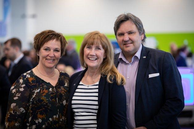 Fra venstre: Margunn Ebbesen, Grethe M. Fjærvoll og Jonny Finstad