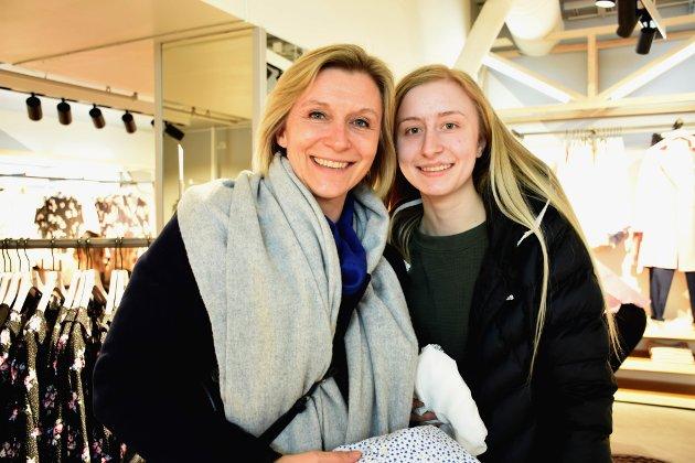 Kathrine Konradsen og Ane Emilie Tetlie.