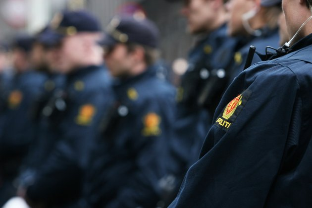 Uniformerte politibetjenter
