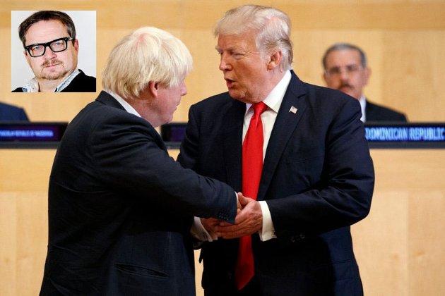 Donald liker Boris, og Boris liker Donald, men det finnes åpenbare fotskjeller pådem.