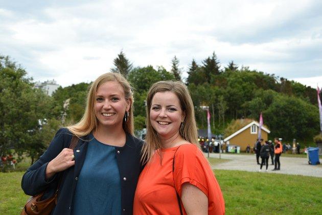 Solveig Lakså (33) og Ann-Iren Hansen (32).